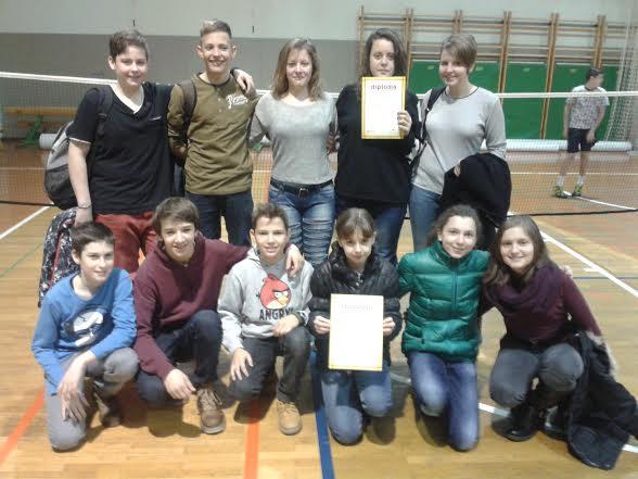 Badminton ekipno