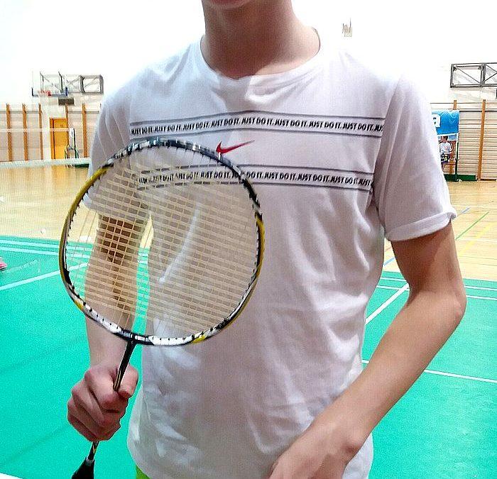 Luka Šneler peti na državnem posamičnem prvenstvu v badmintonu