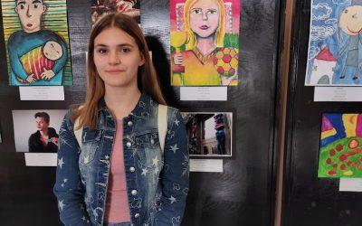 Zelo uspešni na natečaju Evropa v šoli – Leona Ambrožič – 3. mesto v Sloveniji