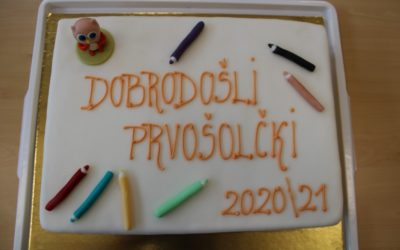 1. šolski dan za prvošolce