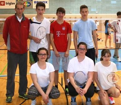 Državno ekipno prvenstvo v badmintonu 2015