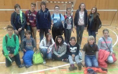 Badminton področno posamično 2015