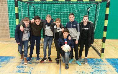 2. mesto na občinskem tekmovanju v nogometu za mlajše dečke 2020