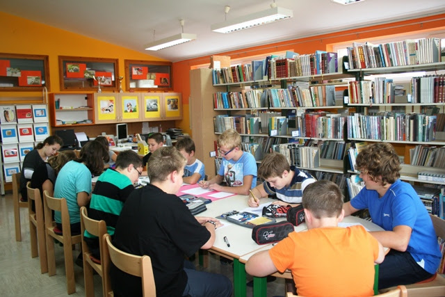 Dragi obiskovalci šolske knjižnice
