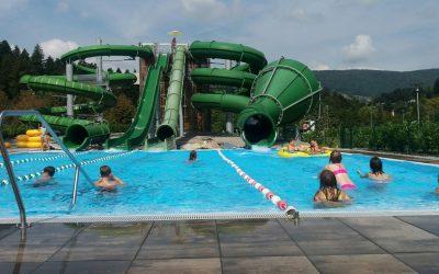 Plavanje v Dolenjskih toplicah