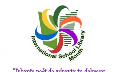 Mednarodni mesec šolskih knjižnic – oktober 2020