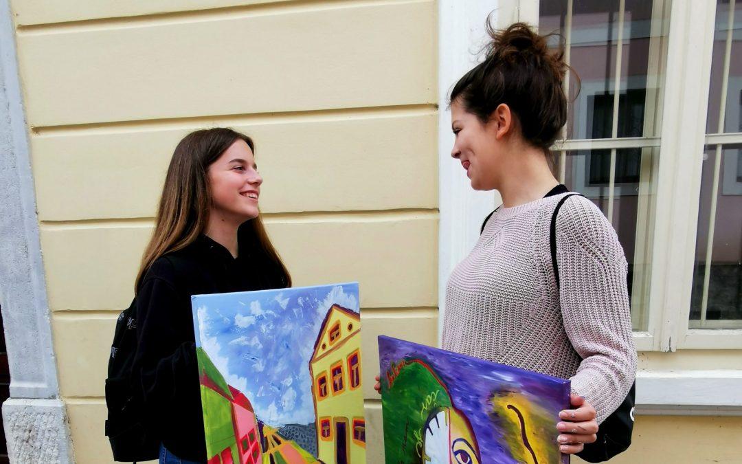 Virtualna razstava 39. slikarskega ex tempora mladih likovnikov Bele krajine