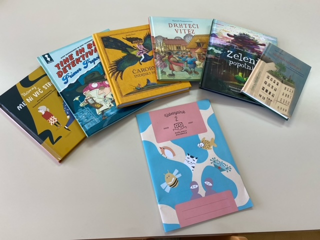 Pismo presenečenja v projektu Naša mala knjižnica